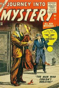 Cover Thumbnail for Journey into Mystery (Marvel, 1952 series) #30