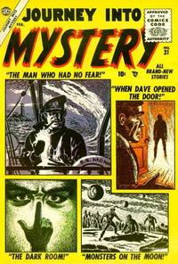 Cover Thumbnail for Journey into Mystery (Marvel, 1952 series) #31