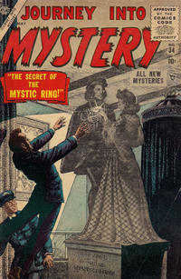 Cover Thumbnail for Journey into Mystery (Marvel, 1952 series) #34
