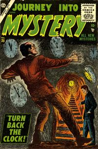 Cover for Journey into Mystery (Marvel, 1952 series) #35