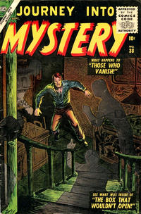 Cover Thumbnail for Journey into Mystery (Marvel, 1952 series) #38