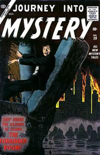 Cover Thumbnail for Journey into Mystery (Marvel, 1952 series) #39