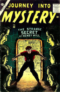 Cover Thumbnail for Journey into Mystery (Marvel, 1952 series) #40