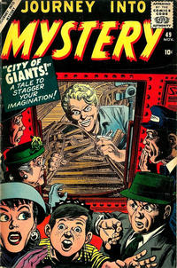 Cover Thumbnail for Journey into Mystery (Marvel, 1952 series) #49