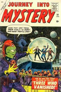 Cover Thumbnail for Journey into Mystery (Marvel, 1952 series) #50