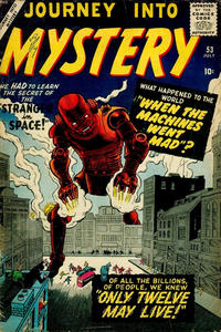 Cover for Journey into Mystery (Marvel, 1952 series) #53