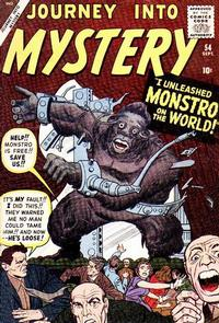 Cover Thumbnail for Journey into Mystery (Marvel, 1952 series) #54