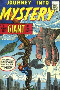 Cover Thumbnail for Journey into Mystery (Marvel, 1952 series) #55
