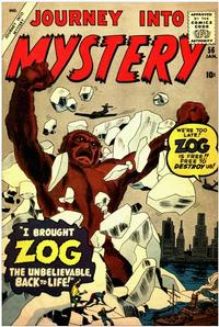Cover Thumbnail for Journey into Mystery (Marvel, 1952 series) #56