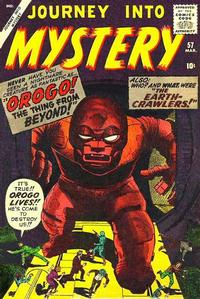 Cover Thumbnail for Journey into Mystery (Marvel, 1952 series) #57