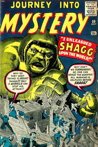 Cover Thumbnail for Journey into Mystery (Marvel, 1952 series) #59