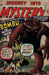 Cover Thumbnail for Journey into Mystery (Marvel, 1952 series) #60