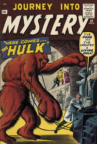 Cover Thumbnail for Journey into Mystery (Marvel, 1952 series) #62