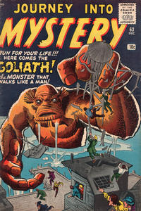 Cover Thumbnail for Journey into Mystery (Marvel, 1952 series) #63