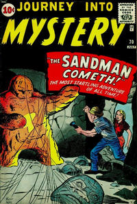 Cover Thumbnail for Journey into Mystery (Marvel, 1952 series) #70