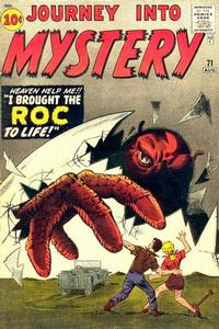 Cover for Journey into Mystery (Marvel, 1952 series) #71
