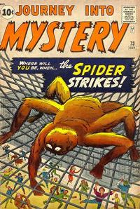 Cover Thumbnail for Journey into Mystery (Marvel, 1952 series) #73