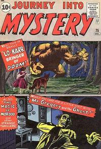 Cover Thumbnail for Journey into Mystery (Marvel, 1952 series) #75