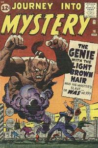 Cover for Journey into Mystery (Marvel, 1952 series) #76 [Small Font Price in Circle]