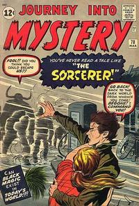 Cover Thumbnail for Journey into Mystery (Marvel, 1952 series) #78