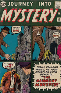 Cover for Journey into Mystery (Marvel, 1952 series) #79