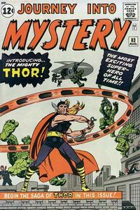 Cover Thumbnail for Journey into Mystery (Marvel, 1952 series) #83