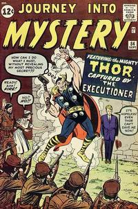 Cover Thumbnail for Journey into Mystery (Marvel, 1952 series) #84