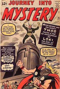Cover Thumbnail for Journey into Mystery (Marvel, 1952 series) #85