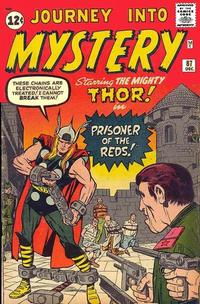 Cover Thumbnail for Journey into Mystery (Marvel, 1952 series) #87