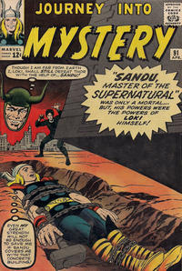 Cover Thumbnail for Journey into Mystery (Marvel, 1952 series) #91 [Regular Edition]