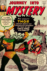 Cover Thumbnail for Journey into Mystery (Marvel, 1952 series) #92