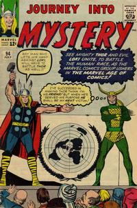 Cover for Journey into Mystery (Marvel, 1952 series) #94 [Regular Edition]