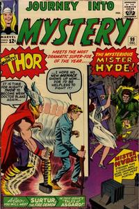 Cover for Journey into Mystery (Marvel, 1952 series) #99