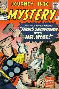 Cover Thumbnail for Journey into Mystery (Marvel, 1952 series) #100