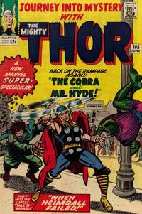 Cover Thumbnail for Journey into Mystery (Marvel, 1952 series) #105