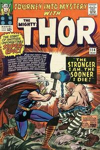 Cover Thumbnail for Journey into Mystery (Marvel, 1952 series) #114