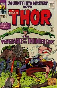 Cover Thumbnail for Journey into Mystery (Marvel, 1952 series) #115