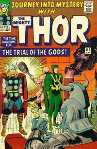 Cover Thumbnail for Journey into Mystery (Marvel, 1952 series) #116