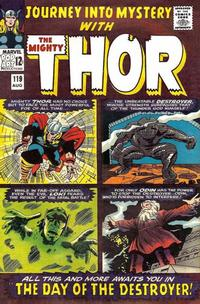 Cover Thumbnail for Journey into Mystery (Marvel, 1952 series) #119 [Regular Edition]