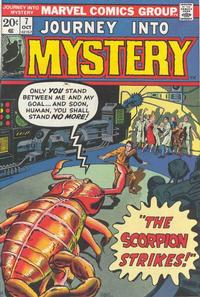 Cover Thumbnail for Journey into Mystery (Marvel, 1972 series) #7