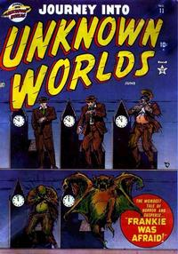 Cover Thumbnail for Journey into Unknown Worlds (Marvel, 1951 series) #11
