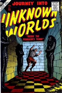Cover Thumbnail for Journey into Unknown Worlds (Marvel, 1950 series) #54
