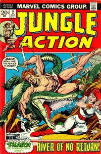 Cover Thumbnail for Jungle Action (Marvel, 1972 series) #2
