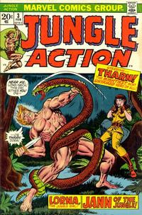 Cover Thumbnail for Jungle Action (Marvel, 1972 series) #3