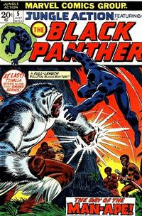 Cover Thumbnail for Jungle Action (Marvel, 1972 series) #5