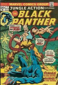 Cover Thumbnail for Jungle Action (Marvel, 1972 series) #7