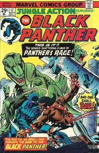 Cover Thumbnail for Jungle Action (Marvel, 1972 series) #17 [Regular Edition]
