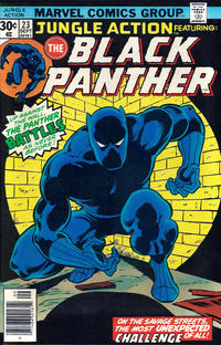Cover Thumbnail for Jungle Action (Marvel, 1972 series) #23
