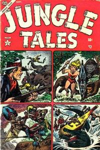 Cover Thumbnail for Jungle Tales (Marvel, 1954 series) #1