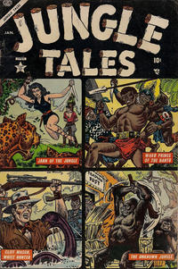Cover Thumbnail for Jungle Tales (Marvel, 1954 series) #3